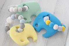 Baby teething elephant / Teething elephant / Teething toy for