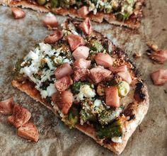 Πίτσα με ζύμη χωρίς αλεύρι Y Recipe, Cheesesteak, Vegetable Pizza, Vegetables, Health, Ethnic Recipes, Food, Health Care, Essen