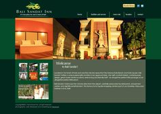 Bali Sandat Hotel  web design, web development