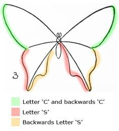 How to Draw Butterflies Step by Step. Found this while looking for inspiration for The Butterfly Project.