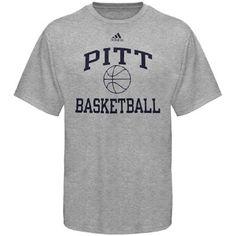 Adidas Pitt Basketball T-shirt Grey Pitt University, University Of Pittsburgh, Pitt Basketball, Adidas, Grey, Mens Tops, T Shirt, Shopping, Gray