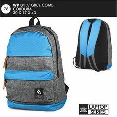 Tas Ransel Pria Trendy Laptop Series [WP 01] (Brand Everflow) Free Ongkir