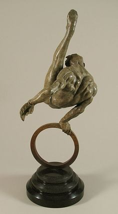 Richard MacDonald, The Gymnast Life Size), Bronze, Sculpture Art Sculpture, Abstract Sculpture, Bronze Sculpture, Metal Sculptures, Sculpture Romaine, Statues, Ceramic Sculpture Figurative, Sphinx, Contemporary Art