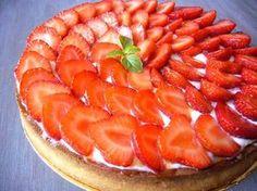 Tarte fraise verveine Recette de Philippe Conticini