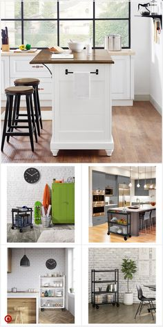 Easy and Workable Rolling kitchen island ideas - Diy & Decor Selections Rolling Kitchen Island, Diy Kitchen Island, Country Kitchen, Primitive Kitchen, Country Primitive, Kitchen Countertops, Updated Kitchen, New Kitchen, Condo Kitchen