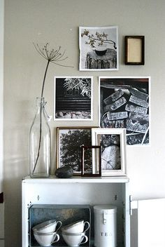 Photo collage and over layered B&W photo gallery... Love it! Looking for unique art photo prints to start your own collection? Visit bx3foto.etsy.com
