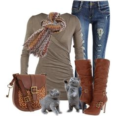 """Jeans are my """"go to"""" must haves, favorite thing to wear, but you can still make the look your own with great tops and accessories."""