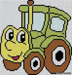 Cross Stitch Charts, Cross Stitch Patterns, Cat Cross Stitches, Bead Loom Patterns, Knitting For Kids, Baby Knitting Patterns, C2c Crochet, Crochet Baby, Circle Math