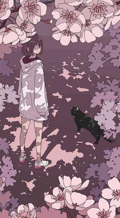 Soft Wallpaper, Aesthetic Pastel Wallpaper, Cute Anime Wallpaper, Cartoon Wallpaper, Anime Backgrounds Wallpapers, Anime Scenery Wallpaper, Animes Wallpapers, Cute Wallpapers, Kawaii Drawings