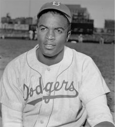 Jackie Robinson played his first game at Ebbets Field for the Brooklyn Dodgers on April making history as the first black athlete to play Major League Baseball in the century. Negro League Baseball, Baseball Players, Pro Baseball, Baseball Bats, Baseball Season, Jackie Robinson Day, Dodgers Win, But Football, American Athletes
