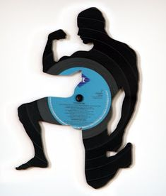 Vinyl to Divinyl: 12 Groovy Ways to Upcycle Old Records Vinyl Record Art, Vinyl Art, Record Crafts, Cut Out Art, Old Vinyl Records, Trash Art, Graffiti Drawing, Vinyl Crafts, Listening To Music