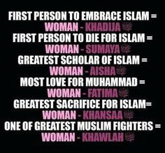 I am proud to be a Muslim woman!