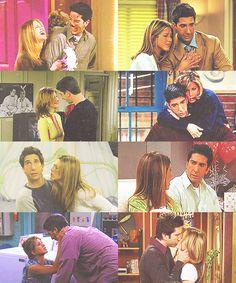 Rachel + Ross, Friends