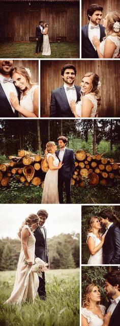 Hochzeitfotos von der kleinen Waldhochzeit © MyFunkyWedding #hochzeitsfotos #hochzeitsfotografie #waldhochzeit