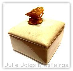 Caixa decorativa em porcelana (decorative porcelain box)