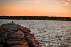 Sunset Photography Newbedford Massachusetts by StacyHellerFineArt