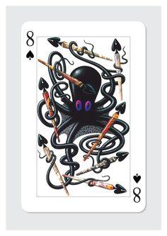 Tony Meeuwissen - Eight of Spades :: Folio Boutique