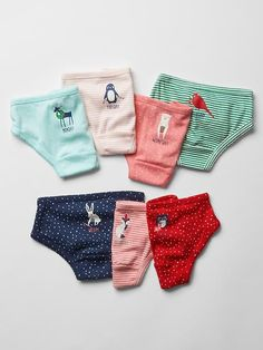 Days-of-the-week festive animal underwear (7-pack) Product Image