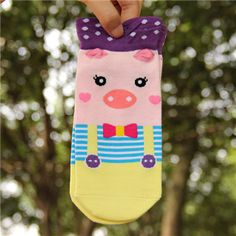 2016New style double side Harajuku cute socks spring summer