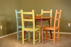 Then she made...: My chairs