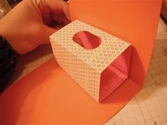 Get well card with pop up tissue box