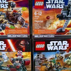 Seeing all the new LEGO Star Wars & Ninjago sets hitting Wallymarts  #lego #starwars #starwarsbattlefront  #shocktrxooper #battlefront #toys #toystagram #FLYGUY #FLYGUYtoys #twitter #googleplus