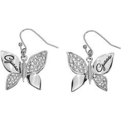 Pendientes  Guess Butterfly UBE41303