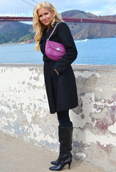 The Lindsay bag in Plum by Alicia Klein lindsay bag, plum