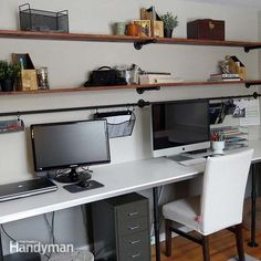Take some cues from the details in this project to find some inspiration for organizing your own desk.
