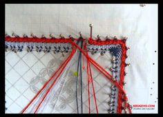 Как выполнить парную зашивку в кружевоплетении на коклюшках