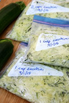 How to Freeze Zucchini | POPSUGAR Fitness Australia
