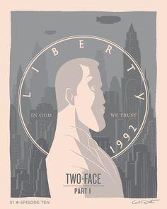 """Batman: The Animated Series"" Episodes Get ""Dark Deco"" Posters – CBR.com"