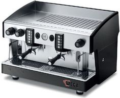 Four programmable doses per group, with manual brewing button. Two chromed steam wands (single on 1 group model) – one manual hot water tap. Water auto-fill, built in rotary pump. Espresso Coffee Machine, Espresso Maker, Coffee Maker, Commercial Coffee Machines, Kitchen World, Premium Coffee, Best Espresso, Coffee Crafts, Atlas