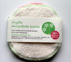Découvrez les 8 tampons démaquillants lavables en bambou avec Maman Autrement ! Ils sont écologiques et si doux pour votre visage