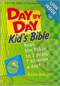 Day by Day Kid's Bible: The Bible for Young Readers (Tyndale Kids): Karyn Henley: 9780842355360: Amazon.com: Books