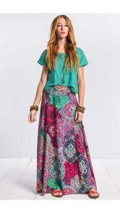 malwee Modest Fashion, Boho Fashion, Fashion Outfits, A Line Skirt Outfits, Look Boho, Long Maxi Skirts, Hippie Outfits, Western Dresses, Elegant Outfit