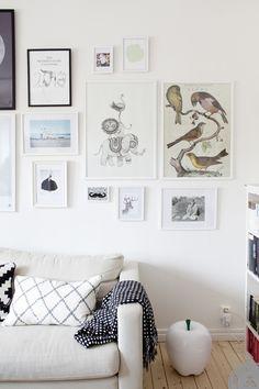Living Room from Keltainen talo rannalla
