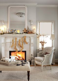 wintry white