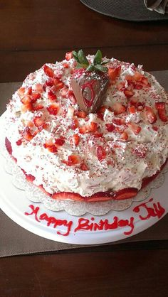 Homemade Strawberry shortcake made by Melissa Bentley