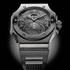 Bulgari Endurer Chronosprint Special Edition All Blacks Watch  @DestinationMars