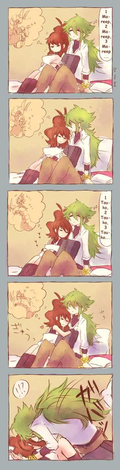 Mareep to Touko by Sin-D-Hellian on DeviantArt Finally I know what he's thinking!