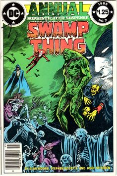 1985: Kirby Award for Best Single Issue Swamp Thing Annual #2