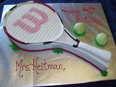 Tennis Cake Topper Set