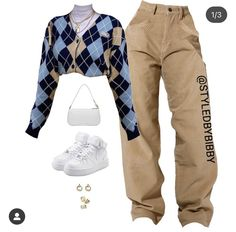 Baddie Outfits Casual, Cute Swag Outfits, Cute Comfy Outfits, Stylish Outfits, Polyvore Outfits Casual, Tomboy Fashion, Teen Fashion Outfits, Retro Outfits, Style Fashion
