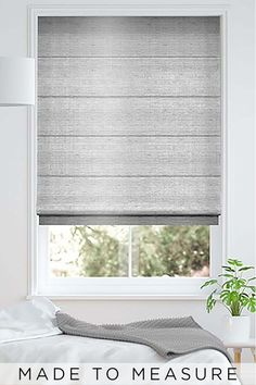 Buy Eloise Silver Made To Measure Roman Blind from the Next UK online shop Roman Blinds, Next Uk, Uk Online, Lounge, Bedroom, Silver, Stuff To Buy, Furniture, Home Decor