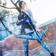 Hanzo cosplay by Andy Rae Cosplay.
