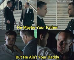 I see what you did there. Fitz and Coulson.