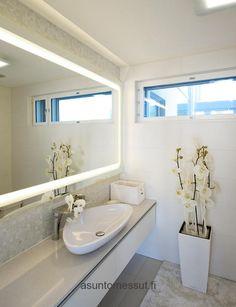 White bathroom  Lammi-Kivitalo villa Ilo - WC | Asuntomessut