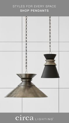 Circa lighting has pendant lights for every room in your home or office.