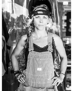 I am a welder. Jessi Combs, Racing Quotes, Bike Stuff, Captain Hat, Truck, Big, Lady, Girls, People